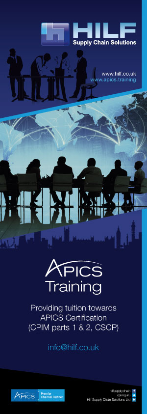 APICS training from the UK market leader - HILF